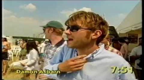 Phoenix Festival 1996 celebrity football clips ( The Big Breakfast - Channel 4)