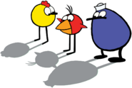 Peep Quack and Chirp