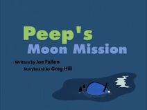 Peep's Moon Mission Title Card