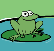 Hop to it frog