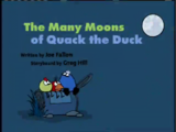 The Many Moons of Quack the Duck