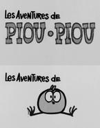 Les Aventures de Piou Piou opening frames