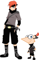 2nd dimension phineas by jojorules911-d49derf