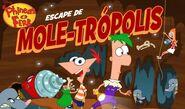 Escape de Mole Trópolis 11