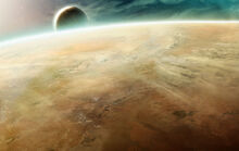 Planet Calderis by Zen Master