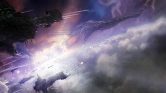 Dow2 space battle