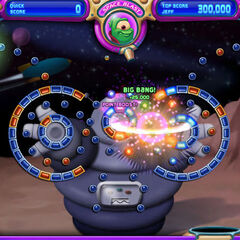 Screenshot of gameplay in <i>We Come in Peace</i> level