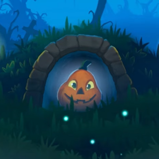 Renfield's cameo in <i>Peggle 2</i>