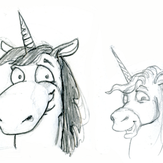 Concept sketches for <i>Peggle Deluxe</i>