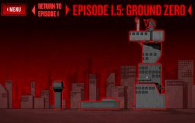 Episode 1.5 screen selection.