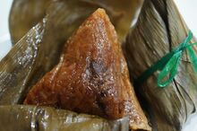 Bak chang Chinese dumpling
