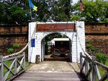 Fort Cornwallis entrance, George Town, Penang