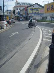 Old tram tracks, George Town, Penang