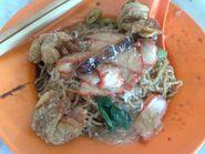 Wan tan mee, Pulau Tikus, George Town, Penang