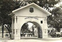 Old Penang Free School, George Town, Penang