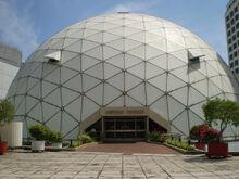 KOMTAR Geodesic Dome, George Town, Penang