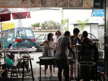 Uncle Lim Popiah, Chowrasta Road, George Town, Penang