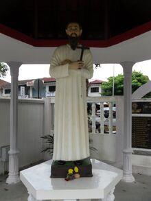St Chastan monument, Pulau Tikus, George Town, Penang