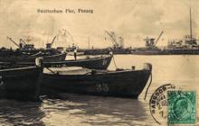 Swettenham Pier, George Town, Penang (1910s)