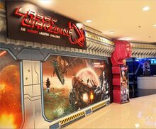 Laser Warzone, Gurney Plaza, George Town, Penang