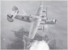 Royal Air Force bomber in Southeast Asia, 1944