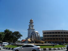 Light Street Roundabout & Pinang Fountain, George Town, Penang