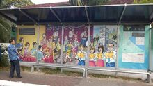 Pulau Tikus artwork, George Town, Penang