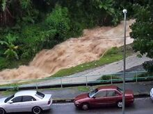 Paya Terubong flash flood 2015, Penang