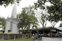 Brown Memorial and Food Court, Padang Brown, George Town, Penang