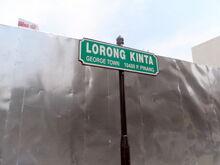 Kinta Lane sign, George Town, Penang