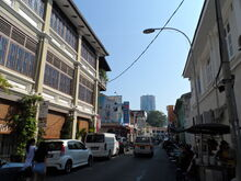 Cintra Street, George Town, Penang