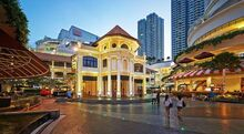 Gurney Paragon (night), George Town, Penang