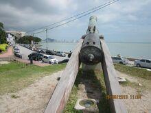 Seri Rambai cannon, Fort Cornwallis, George Town, Penang