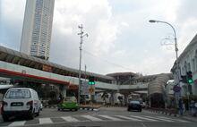 Octopus Footbridge, Penang Road, George Town, Penang (2)