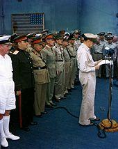 Japan surrender 2 Setpember 1945 Tokyo