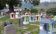 Batu Lanchang cemetery, George Town, Penang