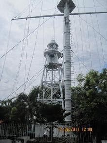 Fort Cornwallis lighthouse, George Town, Penang