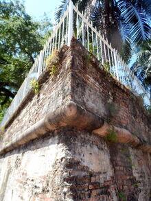 Northeast point of Fort Cornwallis, George Town, Penang