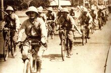 Imperial Japanese Army bicycle blitzkrieg