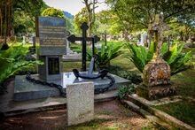 Zhemchug Memorial, Western Road Cemetery, George Town, Penang