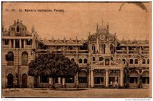St. Xavier's Institution, Farquhar Street, George Town, Penang (1900)