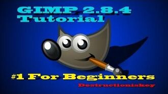 How to use GIMP 2.8 for beginners free photo program!