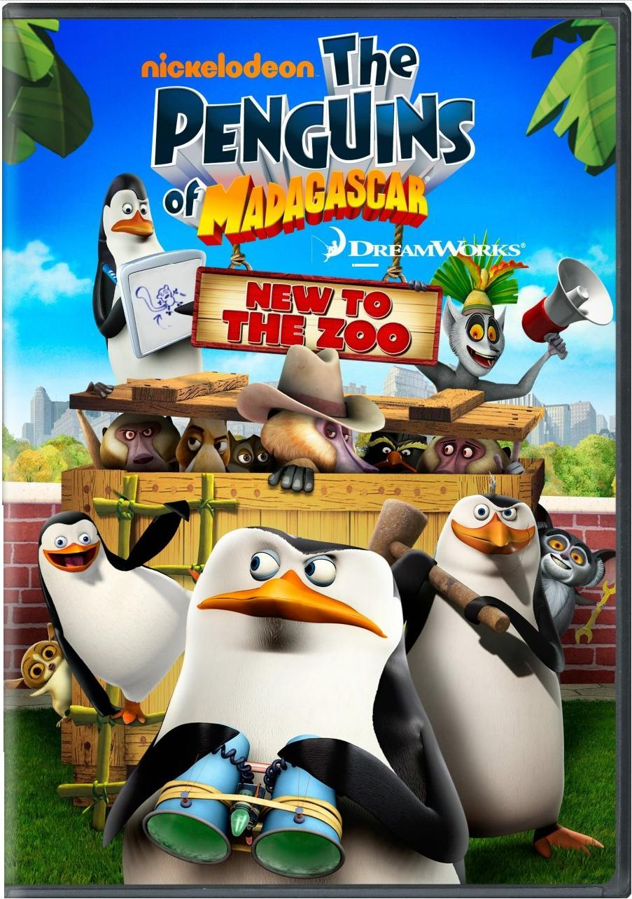 penguins of madagascar: new to the zoo dvd | madagascar wiki
