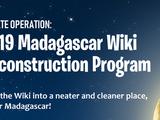 Madagascar Wiki/2019 Madagascar Wiki Reconstruction Program