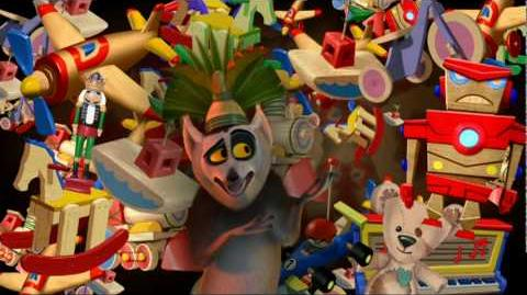 King Julien- Santa Claus is Coming to Madagascar (Music Vid)