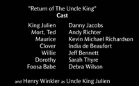 Return of the Uncle King - Voice Cast