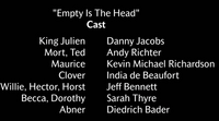 Empty is the Head Voice Cast