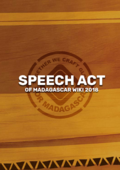 SPEECH ACT-PREVIM