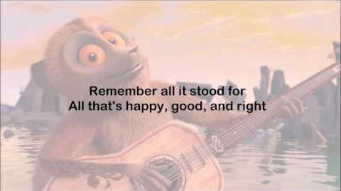 All Hail King Julien - Remember the Pee Pee Pants - Lyrics