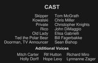 A Christmas Caper Cast